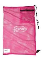 Mesh Gear Bag Pink